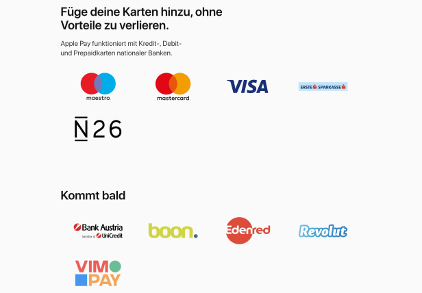 Apple pay funktioniert nicht