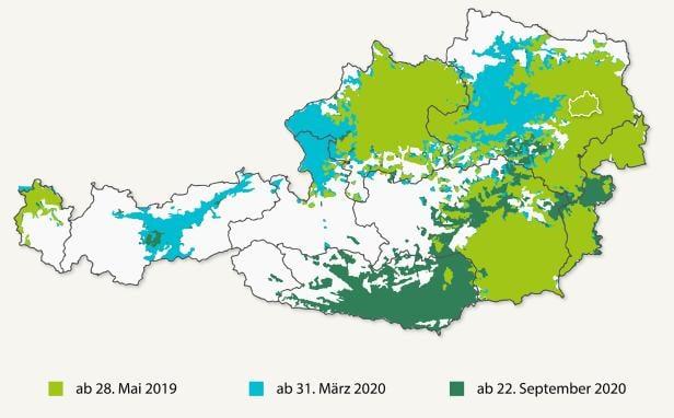 Dab Sender Karte.Digitalradio Dab Ab Sofort In Osterreich Verfugbar