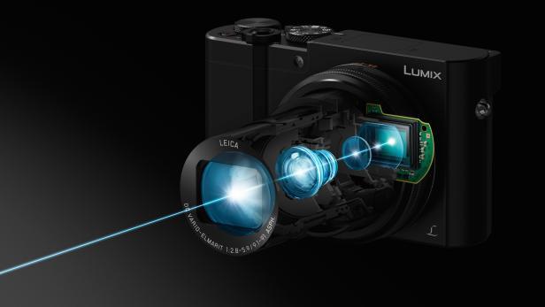 Der Objektivaufbau der Lumix DMC-TZ101