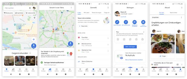 Update Fur Google Maps Ist Da Das Kann Die Neue Version