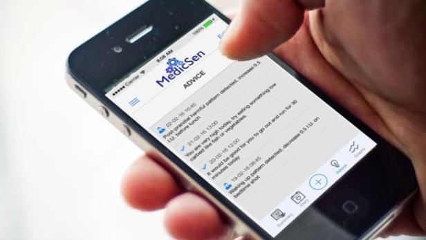 Smarte App für Diabetiker