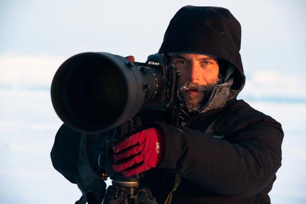 Florian Schulz fotografierte in der Arktis mit einer Nikon D3S und D4S