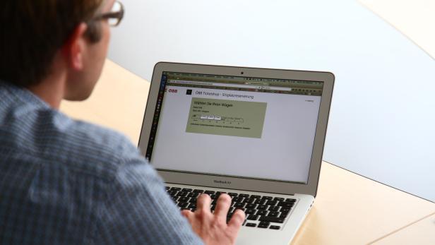 ÖBB Webseite