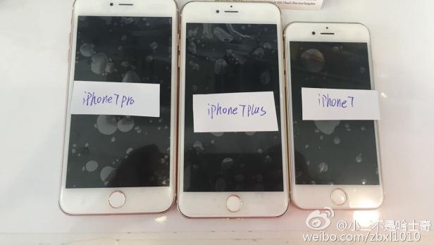 iPhone 7 Pro Leak