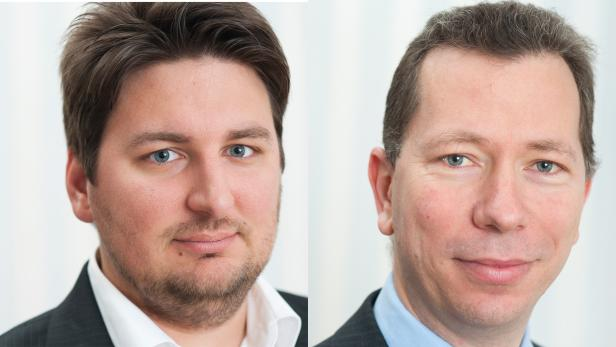 Andreas Tomek (links) und Markus Klemen von SBA Research
