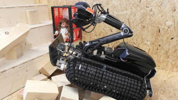 Black Scorpion, der Roboter des Jahres 2013