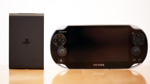 PS TV und die Handheld-Konsole PS Vita