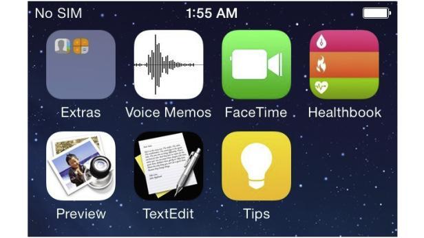 Geleakter iOS 8 Screenshot