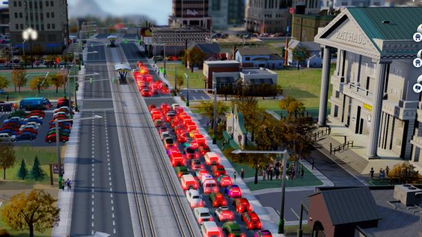Früher oder später kommt es zu einem Verkehrschaos
