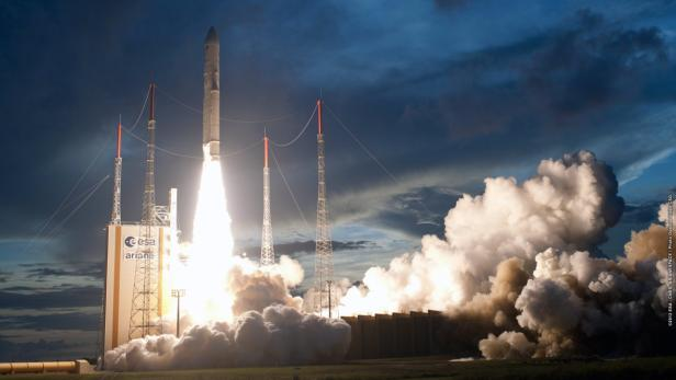 Der Start der Rakete erfolgte am Samstag