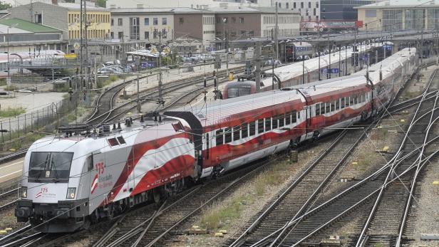Der Railjet ist so gut isoliert, dass Mobilfunksignale stark abgedämpft werden