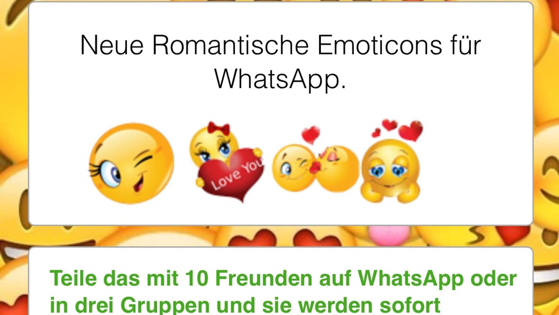 Whatsapp süße kettenbriefe
