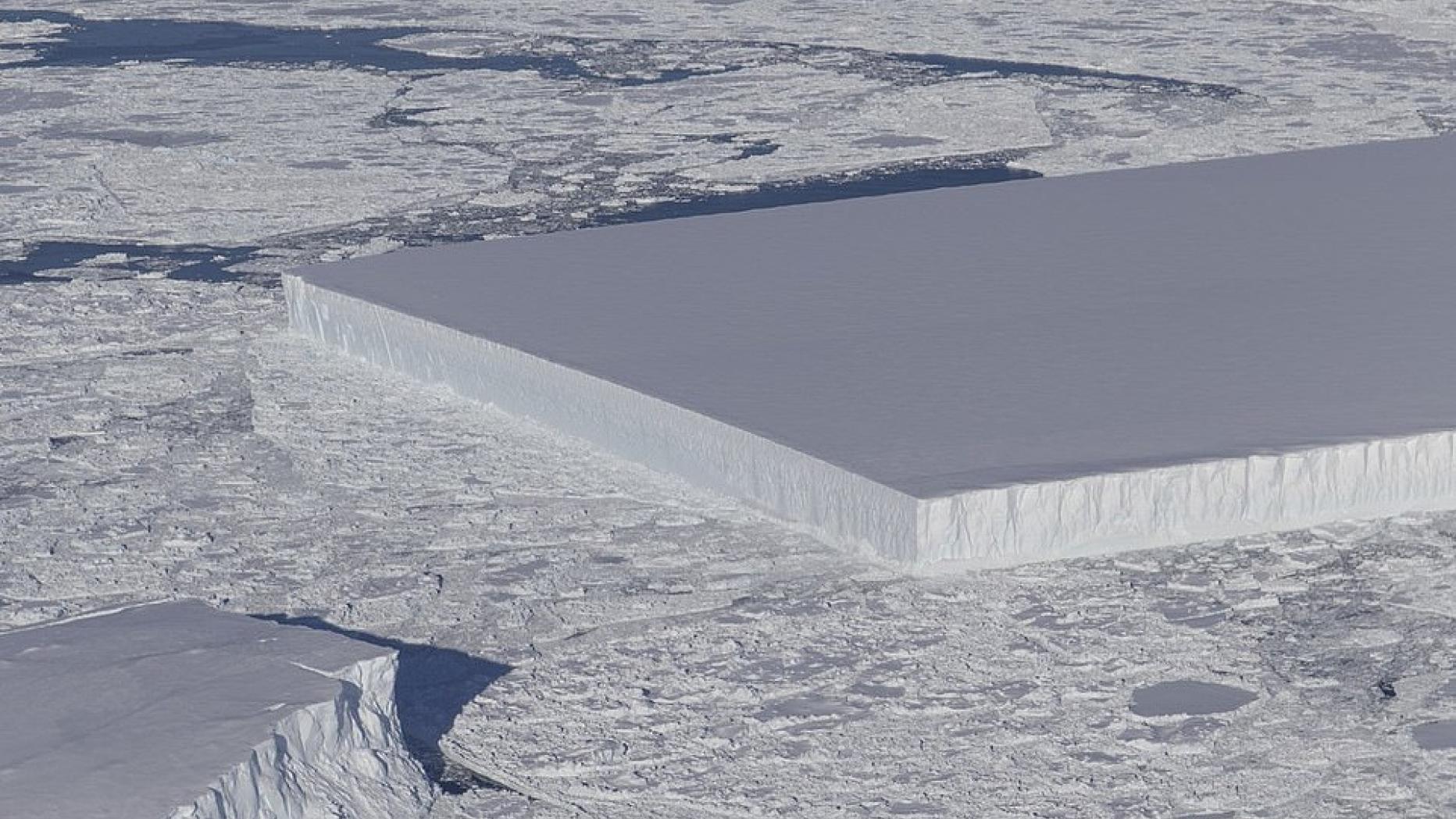 NASA veröffentlicht Foto von mysteriösem Eisberg