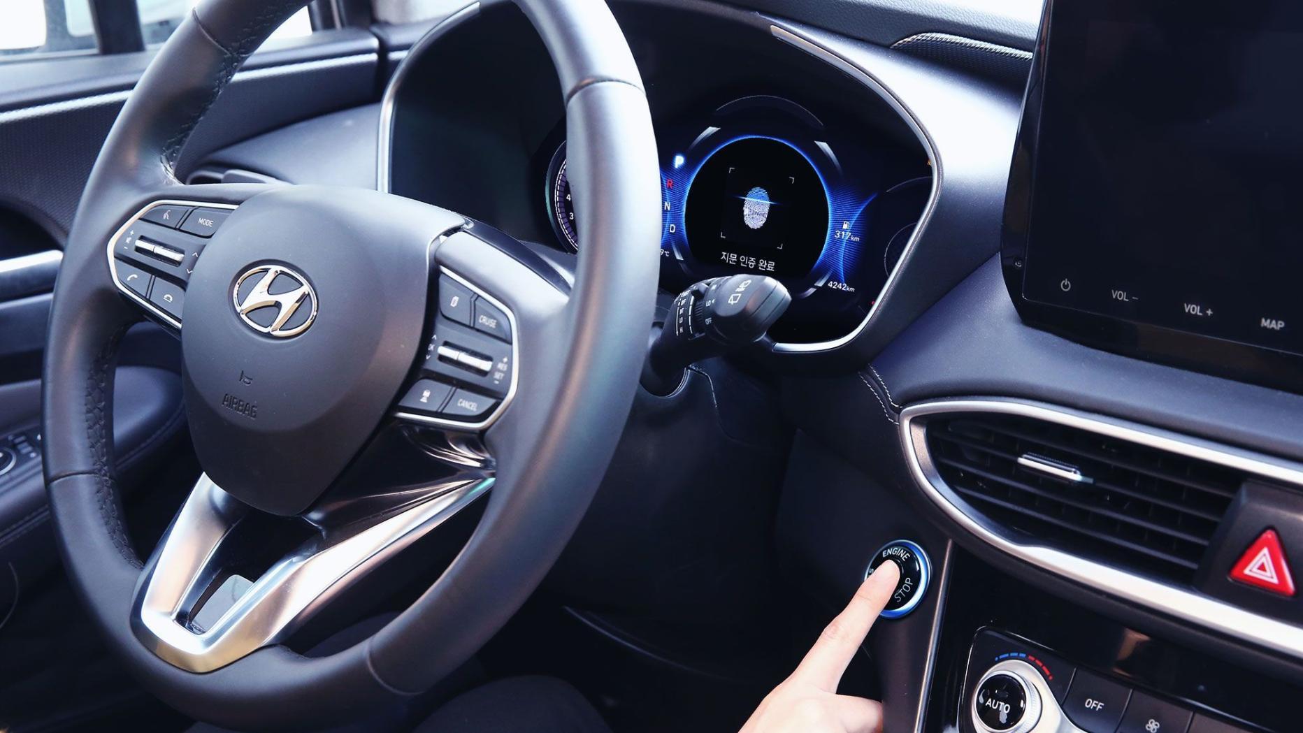 Hyundai ersetzt Autoschlüssel durch Fingerabdruck