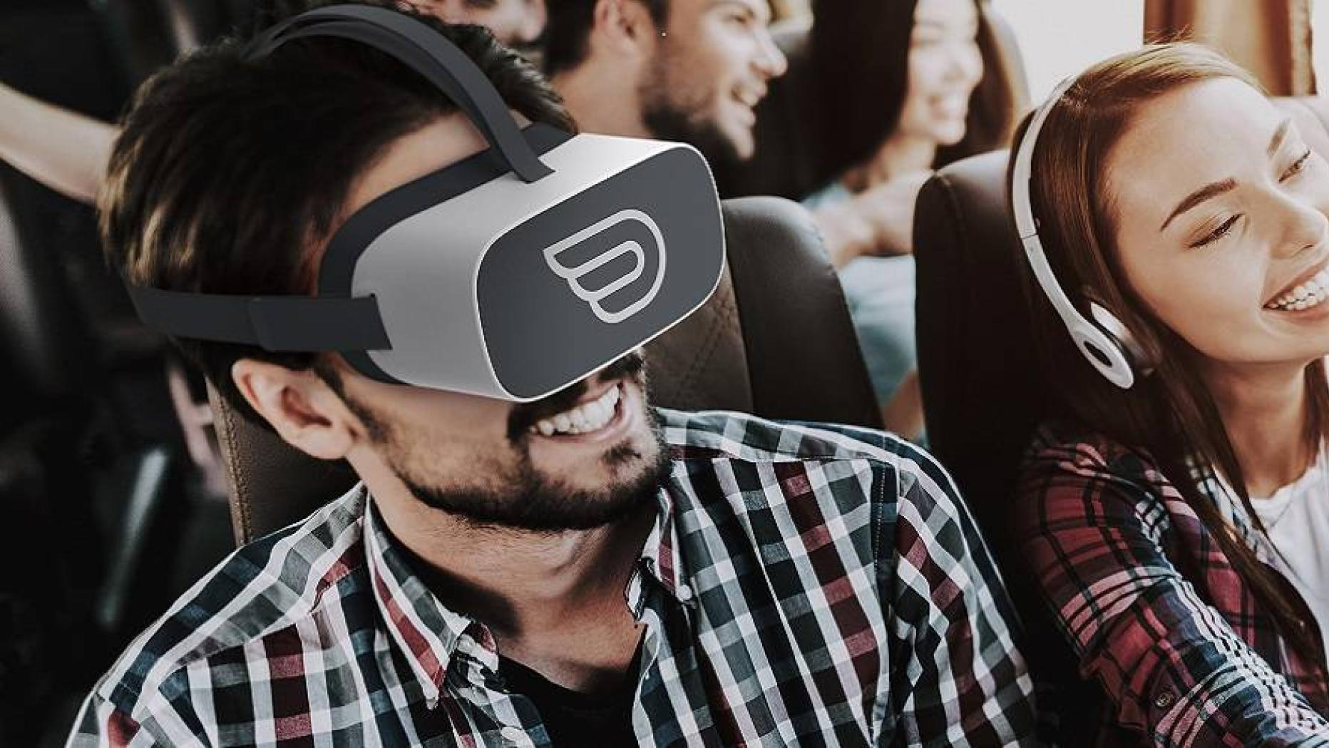 FlixBus bietet Passagieren Virtual-Reality-Headsets