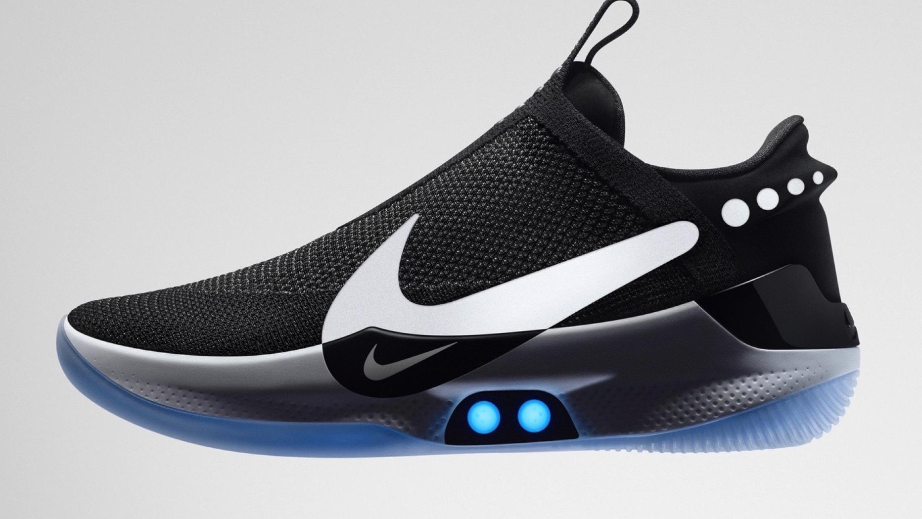 Das ist Nikes neuer selbstschnürender Schuh | futurezone.at