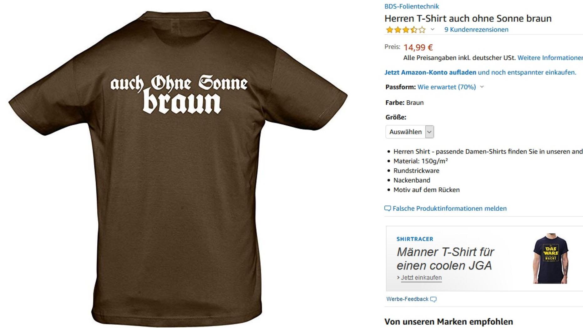 df9b3579915a0b Zentralrat: Amazon soll endlich aufhören Nazi-Artikel zu verkaufen    futurezone.at
