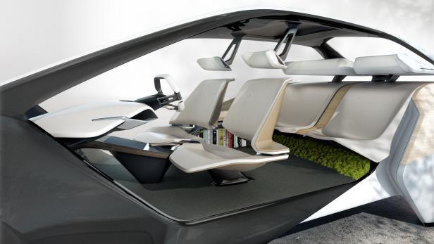 Wie Sich Bmw Das Auto Interieur Der Zukunft Vorstellt Futurezone At