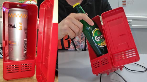 Kleiner Kühlschrank Für Flaschen : Usb kühlschrank im community test witzig aber warm futurezone at