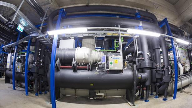 Auto Kühlschrank Hofer : Fernkälte das ist wiens größter kühlschrank futurezone at