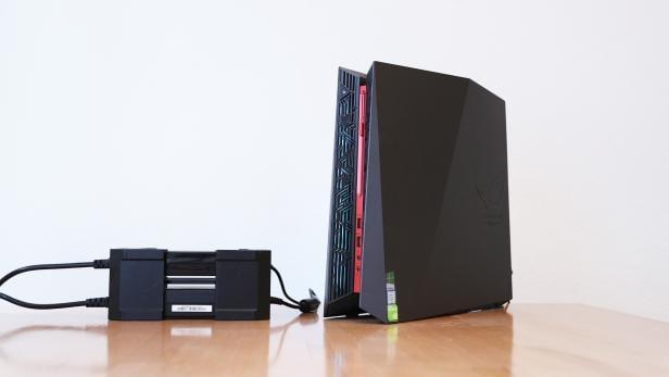 Pc Gehäuse Wohnzimmer, asus g20 im test: kompakter gaming-pc für das wohnzimmer | futurezone.at, Design ideen
