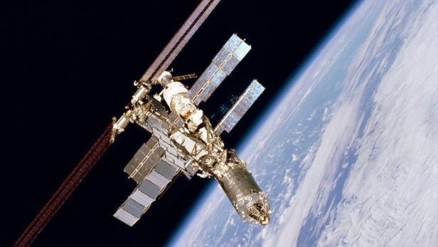 Raumstation ISS im Erdorbit
