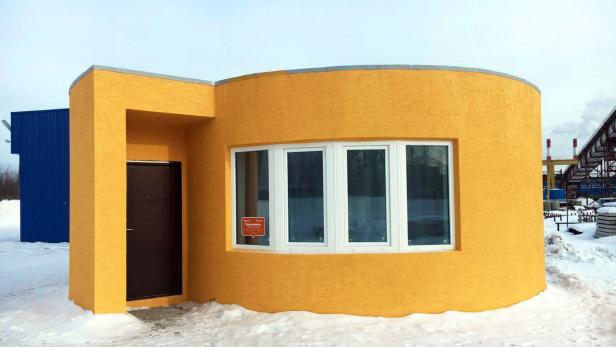 Start-up druckt komplettes Haus mit 3D-Drucker   futurezone.at