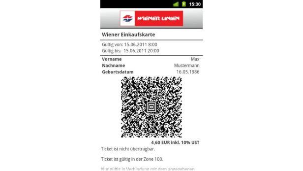 Wiener Linien Tickets Am Smartphone Anzeigen Futurezoneat