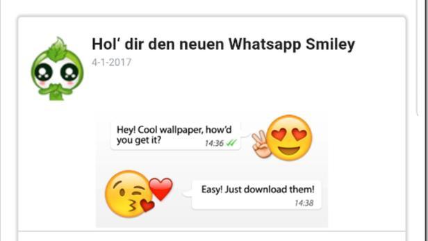 Spiel kettenbrief smiley Kettenbriefe whatsapp