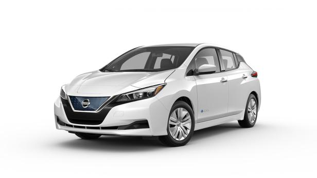 kein bremspedal nötig: nissan zeigt neues e-auto leaf | futurezone.at
