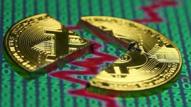 Kryptowährungen Fallen