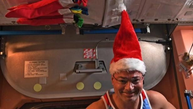 Amerikanische Weihnachtsgrüße.Weihnachtsgrüße Von Der Internationalen Raumstation Futurezone At