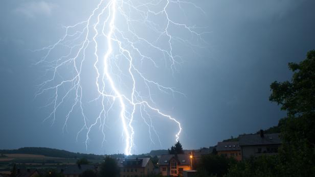 Blitz über Bad Mergentheim