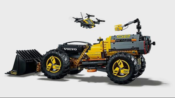volvo bagger lego lego technic volvo ew e bauspielzeug. Black Bedroom Furniture Sets. Home Design Ideas