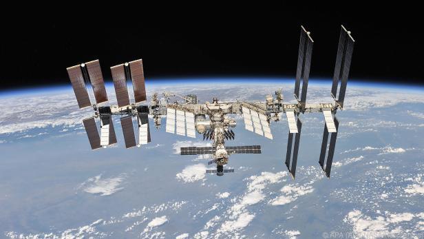 Die Internationale Raumstation (ISS) wartet auf Nachschub