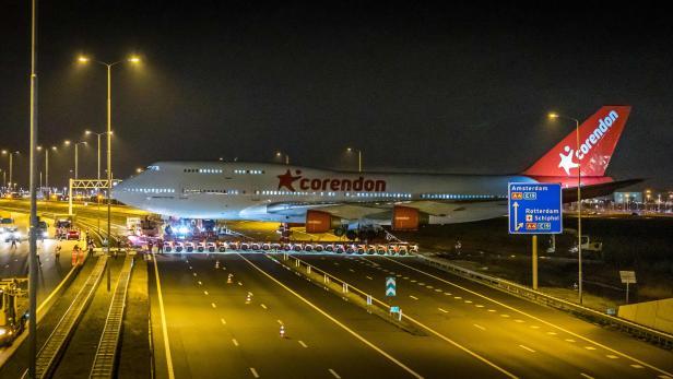 NETHERLANDS-BOEING 747-PLANE-TRANSPORT