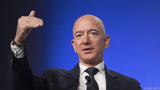 Bezos gab im Jänner die Trennung von Ehefrau MacKenzie bekannt