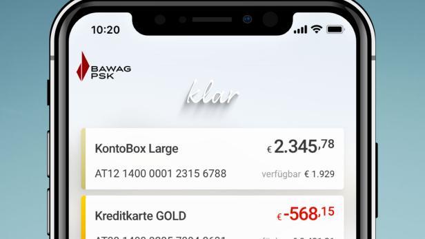 Bawag Fuhrt Neue Banking App Klar Ein Futurezone At