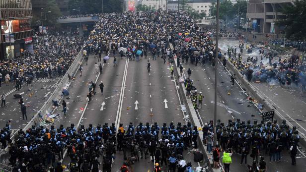 TOPSHOT-HONG KONG-POLITICS-CHINA