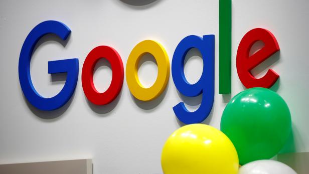 FILE PHOTO: Logo of Google is seen at VivaTech fair in Paris, France