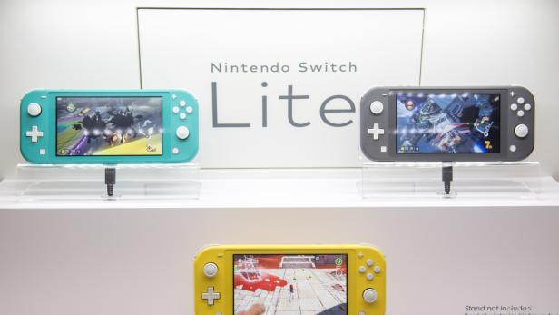 Nintendos Switch Lite kommt in drei Farben