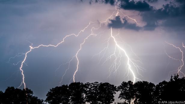Der Blitz schlug in Feistritz an der Drau ein