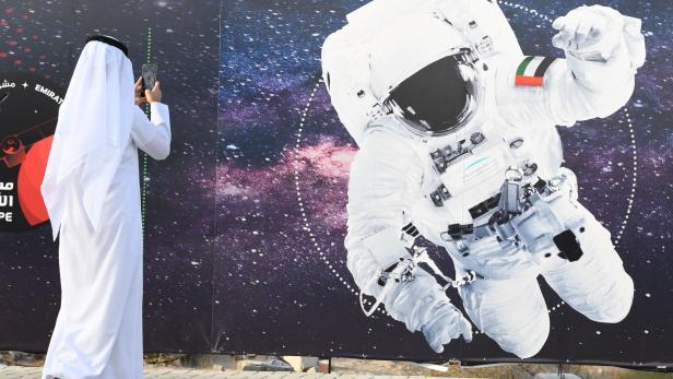 UAE-SPACE-ISS