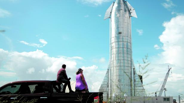 US-SPACEX-CEO-ELON-MUSK-GIVES-UPDATE-ON-STARSHIP-LAUNCH-VEHICLE-