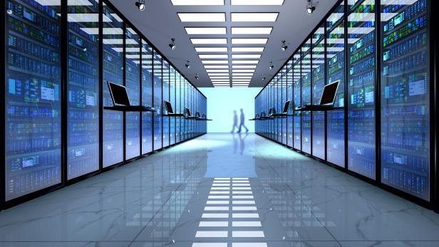 Server room, datacenter.