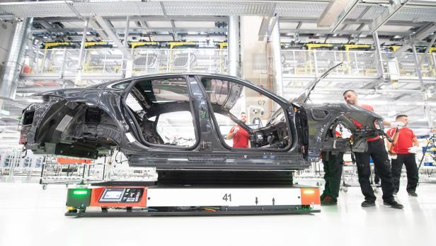 Produktionseröffnung des Porsche Taycan
