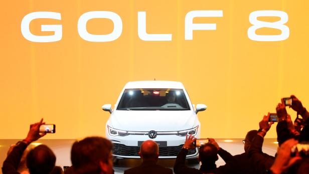 Presentation of the new Golf 8 car at the Volkswagen plant in Wolfsburg