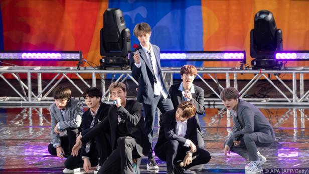 Die K-Pop-Band BTS ist weltweit erfolgreich