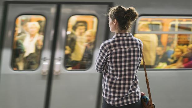 At The Subway Station