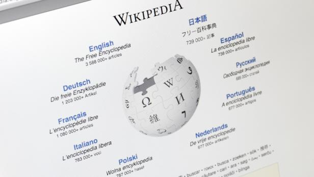 Wikipedia Homepage (www.wikipedia.org)